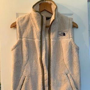 North face Sherpa fleece vest